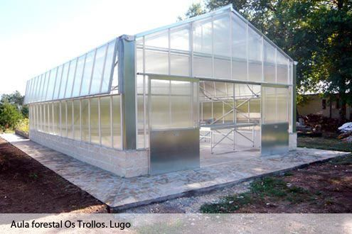 Sales and manufacturing greenhouses invernadero de for Construccion de viveros e invernaderos