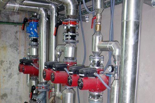 Sistemas de agua caliente de alto rendimiento por tubería de acero radiante