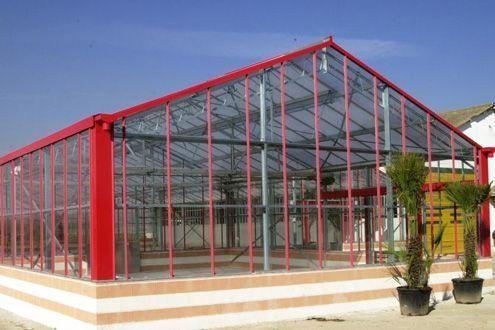 Invernadero Reylux R9. para Centro de Jardinería. Villaviciosa de Odón (Madrid)
