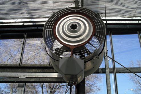 Humidificador en invernadero Sistemas D.R.