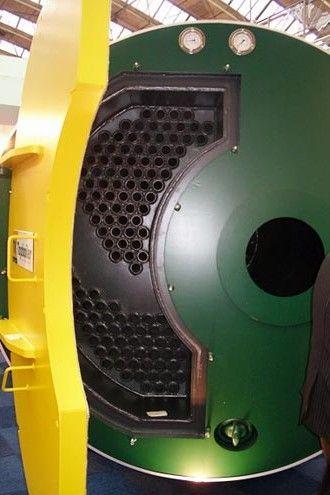 Caldera para instalaciones de tuberías de agua caliente de alto rendimiento