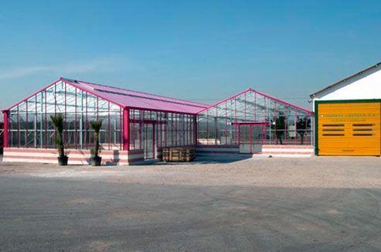 Invernadero Reylux de vidrio para Centro de Jardinería en Villaviciosa de Odón