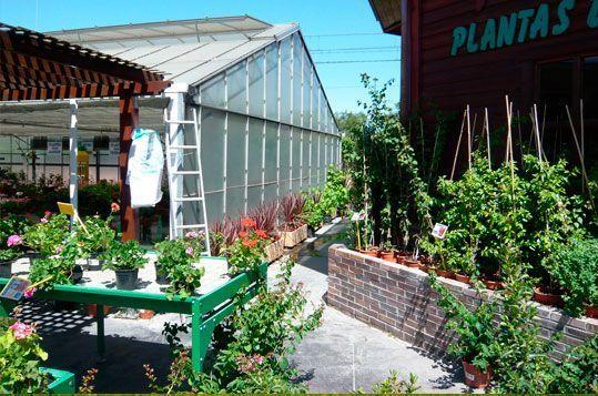 Invernadero de gama alta Reylux para Centro de Jardinería