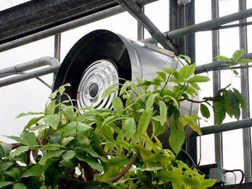 Humidificadores en invernaderos. Sistemas D.R.