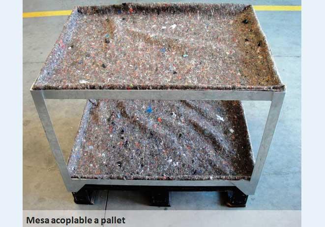 Mesas de cultivo acoplables a pallets Sistemas D.R.