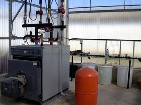 Instalación de caldera y sistema de calefacción