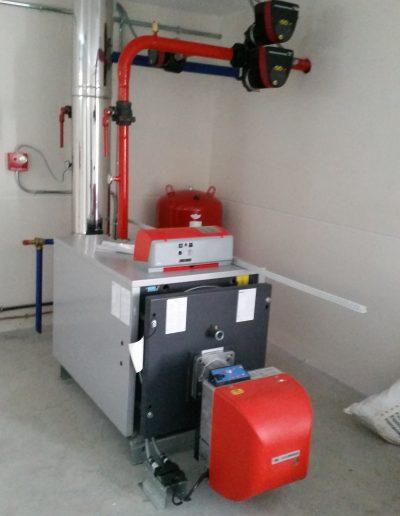 Caldera de Sistema de calefacción en invernadero de Garden Center