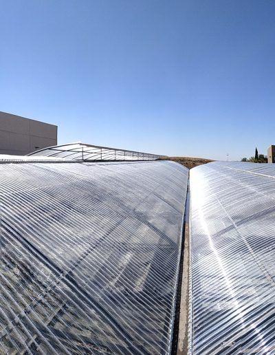 Invernadero Fiberlux F8 para industrias ICA