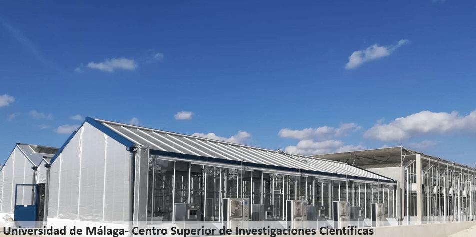 Invernadero Reylux Universidad de Málaga_CSIC